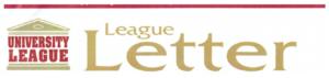 League Letter masthead
