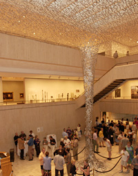 Image from inside Chazen
